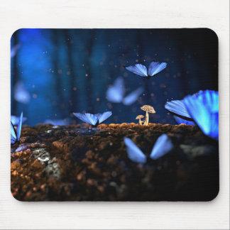 Mousepad com borboleta