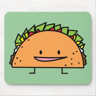 Mousepad Comida feliz do mexicano da salsa da carne da