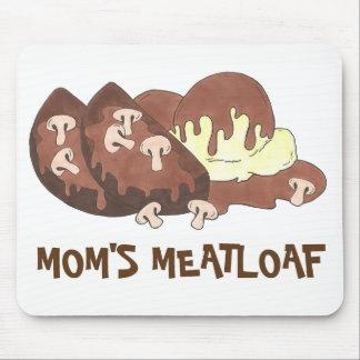 Mousepad Comida triturada Meatloaf Foodie do molho das