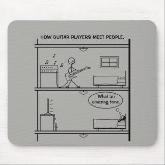 Mousepad Como os guitarristas encontram pessoas