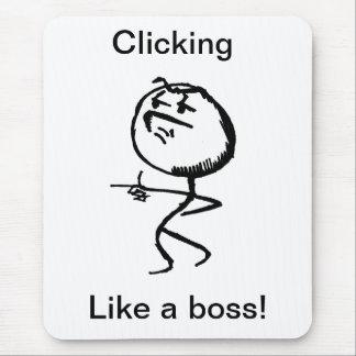 Mousepad como um chefe