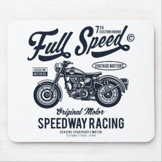 Mousepad Competência do estrada da velocidade máxima
