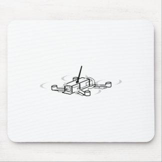 Mousepad Competindo o zangão Quadcopter