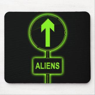Mousepad Conceito dos aliens