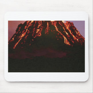 Mousepad cone vulcânico nivelado