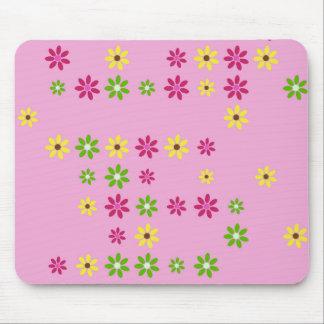 Mousepad Confetes cor-de-rosa da flor