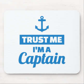 Mousepad Confie que eu mim é um capitão