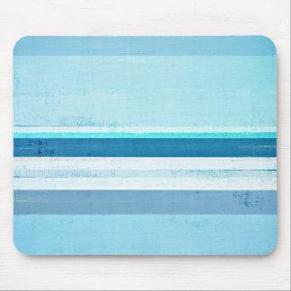 """Mousepad """"Congelando"""" a arte abstracta azul"""
