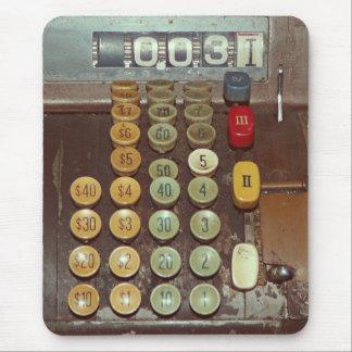 Mousepad Contador do dinheiro velho - caixa registadora