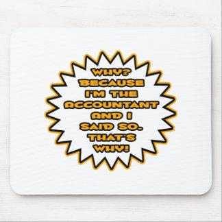 Mousepad Contador engraçado… porque eu disse assim