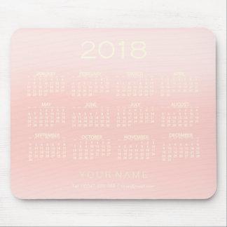 Mousepad Contato Numer do rosa cor-de-rosa de Ombre do