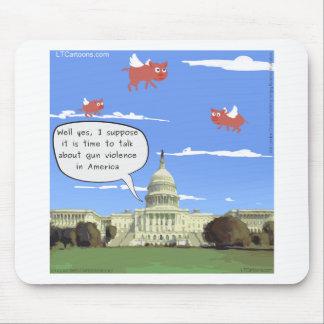 Mousepad Conversa do congresso & da violência armada quando
