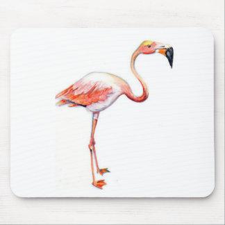 Mousepad Copo de café do flamingo