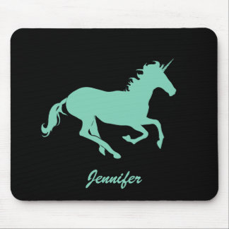 Mousepad Cor da mudança do unicórnio de Jennifer_Green