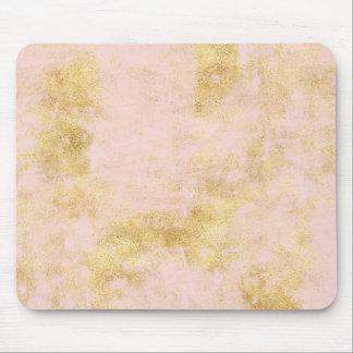 Mousepad Cora o Grunge cor-de-rosa do ouro