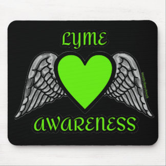 Mousepad Coração/asas… Lyme