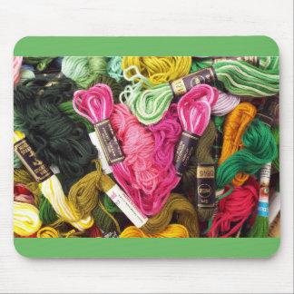 Mousepad Coração cor-de-rosa brilhante colorido bonito do