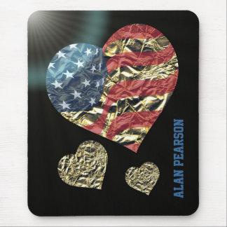 Mousepad 'Coração de America
