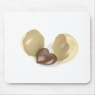 Mousepad Coração do chocolate