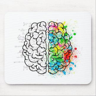 Mousepad corações da ideia da psicologia da mente do