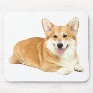 Mousepad Corações do vermelho do cão de filhote de cachorro
