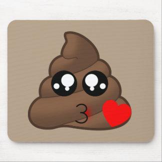 Mousepad Corações & tombadilho Emojis