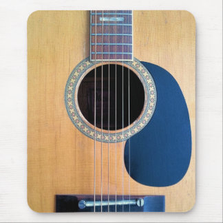 Mousepad Corda de Dreadnought 6 da guitarra acústica