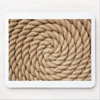 Mousepad corda, marca redonda do design do círculo do alvo