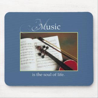 Mousepad Cordas musicais, a alma da vida, tradicional