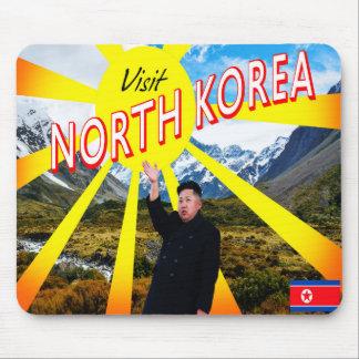 Mousepad Coreia do Norte da visita