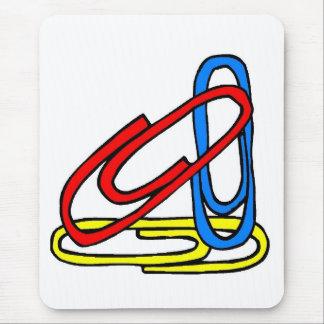 Mousepad Cores coloridas da escola primária dos clipes