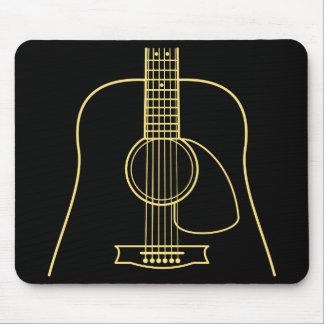 Mousepad Corpo da guitarra acústica