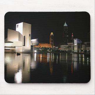 Mousepad Corredor da fama Cleveland Ohio do rock and roll