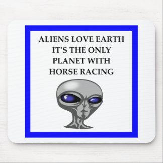 Mousepad corrida de cavalos