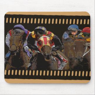 Mousepad Corrida de cavalos na tira do filme