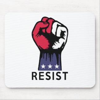 Mousepad Corrupção política da luta do punho da resistência