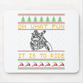 Mousepad corte do design da motocicleta