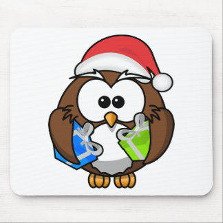 Mousepad Coruja do Natal