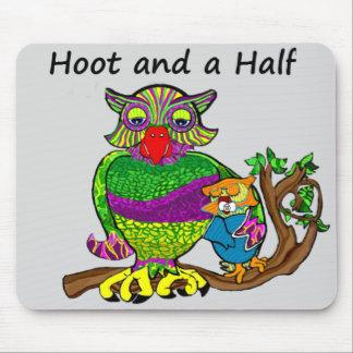 Mousepad Coruja e Owlet
