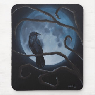 Mousepad Corvo da lua do corvo