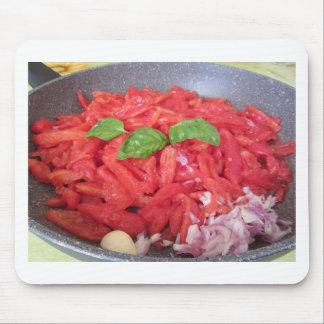Mousepad Cozinhando o molho de tomate caseiro