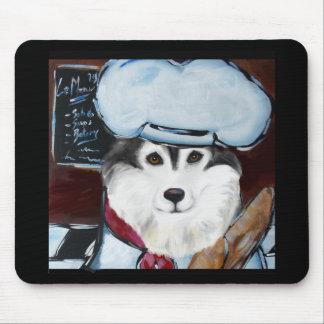 Mousepad Cozinheiro chefe do Malamute do Alasca
