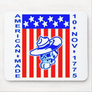 Mousepad Crânio bandeira 10 de novembro de 1775 feito