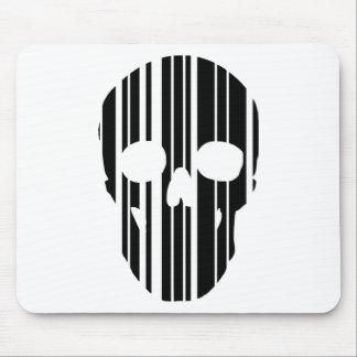 Mousepad Crânio do código de barras