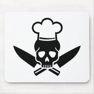 Mousepad Crânio do cozinheiro chefe