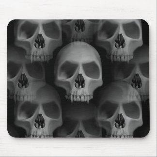 Mousepad Crânio gótico assustador