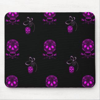 Mousepad Crânios cor-de-rosa
