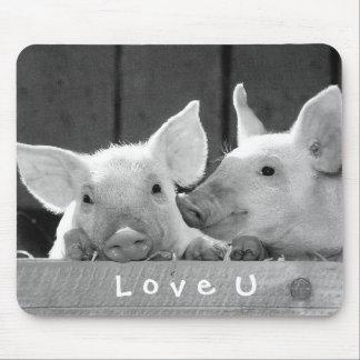 Mousepad Criar seu próprio amor engraçado da foto você