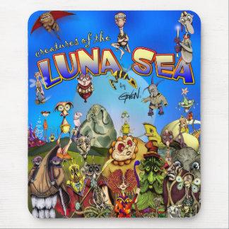 Mousepad Criaturas do mar de Luna