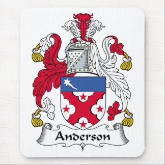 Mousepad Crista da família de Anderson